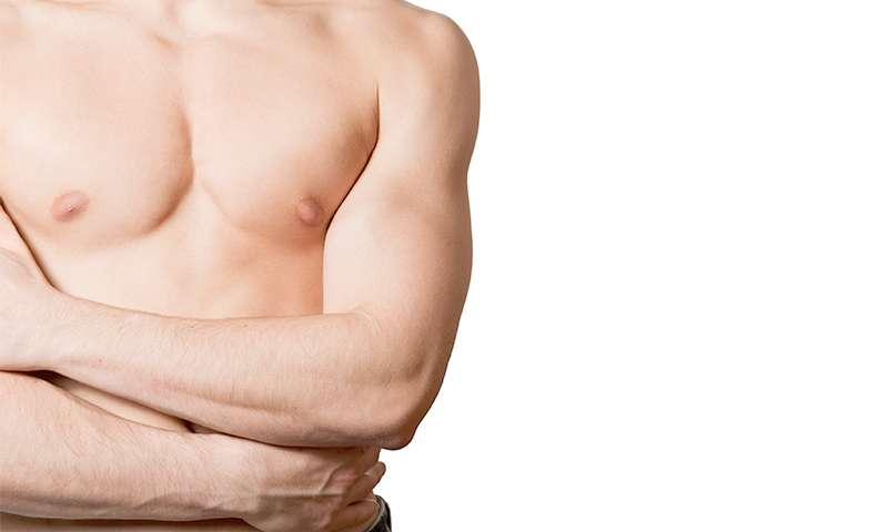 Seins des hommes – Gynécomastie